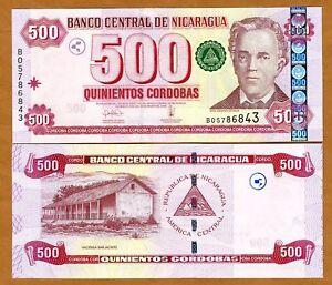 Nicaragua, 500 cordobas, 2006, P-200, UNC > Scarce