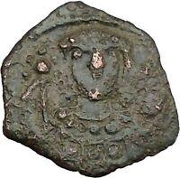 Manuel I , Comnenus  w labarum 1143AD Ancient Byzantine Coin Monogram 58 i38280