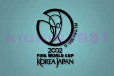 World Cup Korea Japan 2002 Black Polyflex Patch Printing