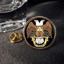 Scozzese Rite 32ND Massonico Blu Navy Distintivo di Lapel Pin Regalo