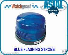 Watchguard Blue Flashing Strobe blue Light alarm system MADE IN TAIWAN