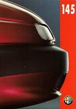 Alfa Romeo 145 1994-95 UK Market Launch Foldout Sales Brochure 1.6 1.6L 1.7 16v
