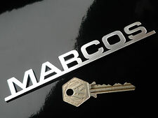 MARCOS SCRIPT Self Adhesive Car Badge Mini Marcos GT Mantara 1800 Mantula Mantis