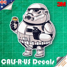 Famous FAT Series Star Wars Stormtrooper Car Decal Sticker Luggage 3M Film 100mm
