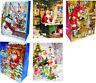 12 hochwertige Geschenktüten medium 4 Design Weihnachten,Gastgeschenke,