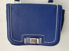 LULU by Lulu Guiness Blue Cross-Body Shoulder Handbag Purse Excellent