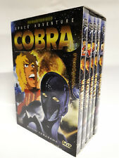 Remastered SPACE ADVENTURE COBRA DVD Set 1 - 5 FRENCH Language Version BOXED SET