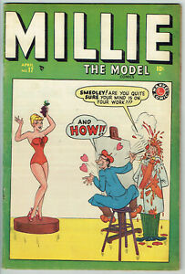 MILLIE THE MODEL  17  VG/4.0  -  Beautiful Swimsuit Cover from 1946!