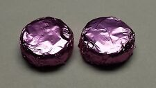 Chocolate covered Oreo Cookies Purple Foil 100 pcs made to Order WEDDING FAVORS