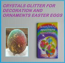 CRYSTALS GLITTER FOR DECORATION AND ORNAMENTS EASTER EGGS  *PRIORITY DELIVERY*