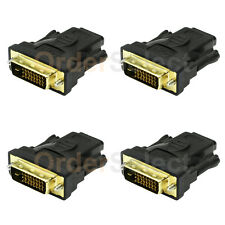 4X NEW DVI Male to HDMI Female 1.4 Adapter Converter For Sony PSP Wii XBOX PS3