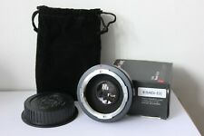 Fotodiox Infinity Pro Adapter Miranda Lens to Canon EOS EF/EFS Camera.UK Seller