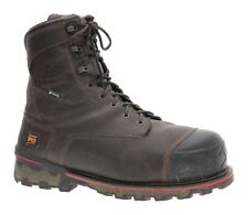TIMBERLAND Pro Boondock Boots 14 W Mens Leather Comp Toe WORK Boots WATERPROOF
