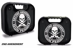 Skin Wrap for Factory Glock 18 19 21 22 43 9mm Pistol Gun Hard Gen 1,2,3 Case GP