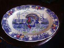 Large turkey platter made in Japan