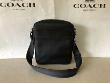 NWT Coach F54782 Men's Smooth Leather Crossbody Flight Bag