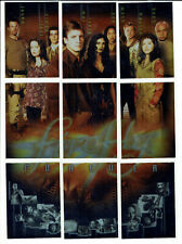 Firefly TV Series Inkworks Complete 9 Card Puzzle Set Firefly Forever F1 to F9