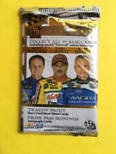 2005 Press Pass VIP NASCAR Race Cards Foil Pack 4 Cards