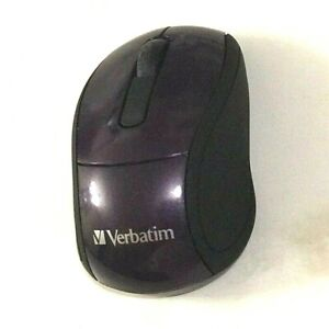 Verbatim Wireless Mini Travel Mouse - Mouse - Optical - Wireless - 2.4 GHz - USB