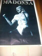 "Madonna ""Blonde Ambition Tour"" 1990 Poster Original 35.5 x 25.25 Ex."