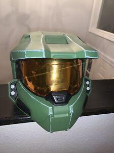 Halo Master Chief Collectible Spartan Helmet Wearable Costume Cosplay Halloween