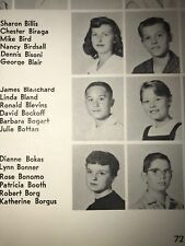 Lincoln High School Yearbook Ferndale , Michigan 1957  James Blanchard Governor