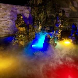 Waterproof Ultrasonic Mist Fog Maker Rockery Pond Fogger Atomizer Humidifier