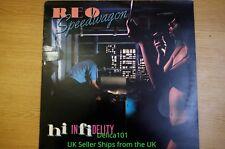 "1980 Hi-Infidelity by REO Speedwagon 12"" LP Vinyl Recordng A1+/A1+  S EPC 84700"