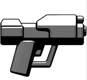 Brickarms Space MAGNUM PISTOL for Mini-figures -Spartans Space Marines -NEW