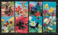 BHUTAN Sc 95-95G NH 3-D issue of 1968 - BUTTERFLIES