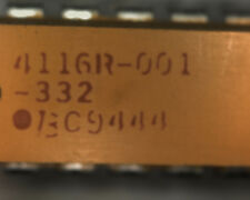 25 x Bourns 4116R1332 3.3K 8 isolated resistor network 3k3 332 3300 ohms 16 pin