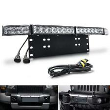 Car Light Bar Number Plate Holder Bracket 60W CREE Led Lamps Universal DIY