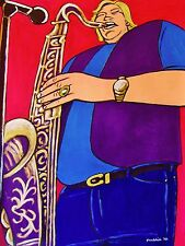 BOBBY KEYS PRINT poster sax rolling stones sticky fingers beggars banquet cd