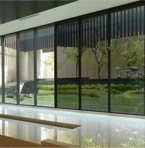 Sonnenschutzfolie PREMIUM AUSSEN Sicht-u. Hitzeschutz Fenster Folie 76cm x 6M