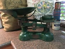 Antique Carnegie & Layton 14 LBS Cast Iron Scales