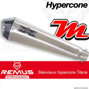 Ligne complète REMUS Hypercone Titane sans cat Yamaha MT-09 Street Rally 14+