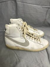 Vintage 80's Nike Blazers 1985 High Tops Basketball Shoes dynasty Sz 8.5 VTG