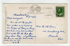Canada picture postcard with B'WATER JUNCT. & MID R.P.O. postmark (C24148)
