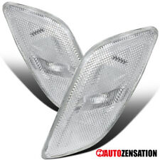 For 2002-2003 Subaru Impreza WRX Clear Bumper Signal Side Marker Lights
