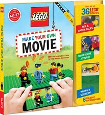 Christmas Gifts KLUTZ LEGO Make Your Own Toy Games Kids Animation Movie Book Kit