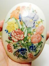 Lenox~The Flower Blossom~Trinket Music Box by Suzanne Clee~Waltz Of The Flowers
