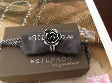 Silpada Sterling Silver flower ring size 8 R2207. NIB