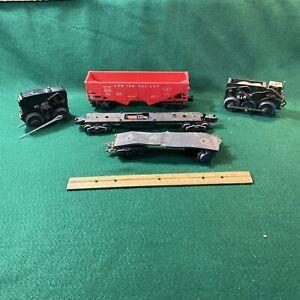 O Scale Engine And Car Parts (HO107711)