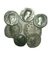 Roman Empire Ancient Silver Denarius 27BC-476AD. Rare Rome Denarius Coin Lot