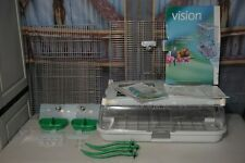 Vision Model M02 MO2 Medium Bird Cage Lovebirds Canaries Finches 2 Birds