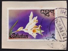 BHUTAN stamp on piece @PM007