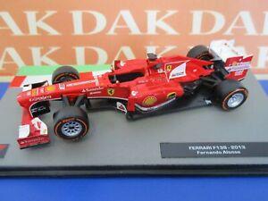Die cast 1/43 Modellino Auto F1 Ferrari F138 2013 F. Alonso