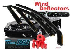 SAAB 9-3  2003 - 2014  SALOON / SEDAN 4D  Wind deflectors 4. pc  HEKO 28105