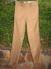 Vintage HUNTING WORLD NYC Safari SLACKS Pant KHAKI - Size 34 - Mint in Bag - NOS