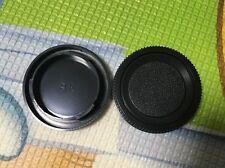 2x camera body cap for Pentax K mount PK Auto Focus K20D K10D K200D K-5 K-3